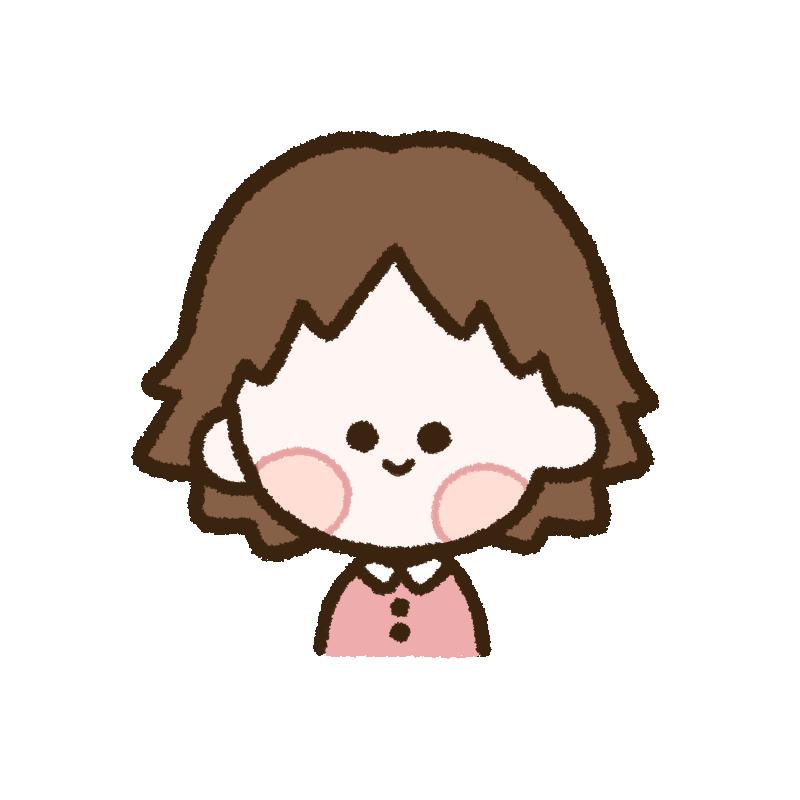 ピンクの服を着た女の子