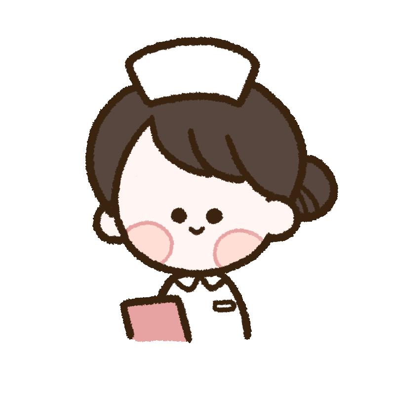 白衣を着た女性看護師