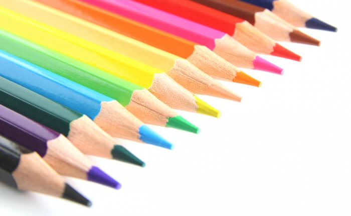 色鉛筆の写真